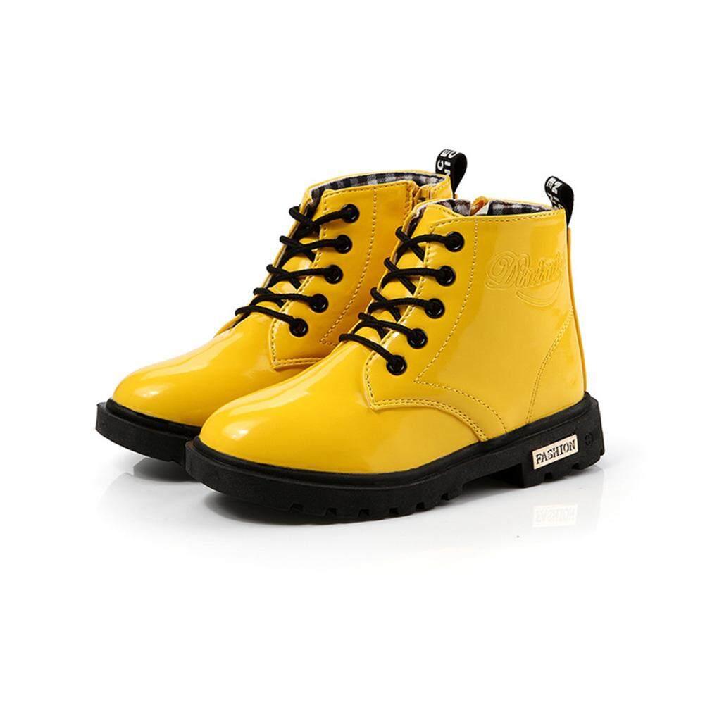 Trẻ em Unisex Thời Trang Giày Ngắn Màu Giày Chống Nước Boot
