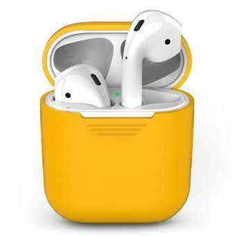GoodGreat เคสหูฟัง, AirPods เคสครอบปกป้องปลอกซิลิโคนและเคสไอแพดของแอ็ปเปิ้ล Airpods CHARGING Case-