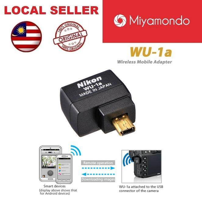 Nikon WU-1a Wireless Mobile Adapter Transmitter