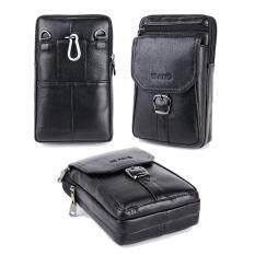 SOBUY Men Genuine Leather Cowhide Vintage Sling Bag Fashion Cross Body Messenger Mini Shoulder Bag – intl