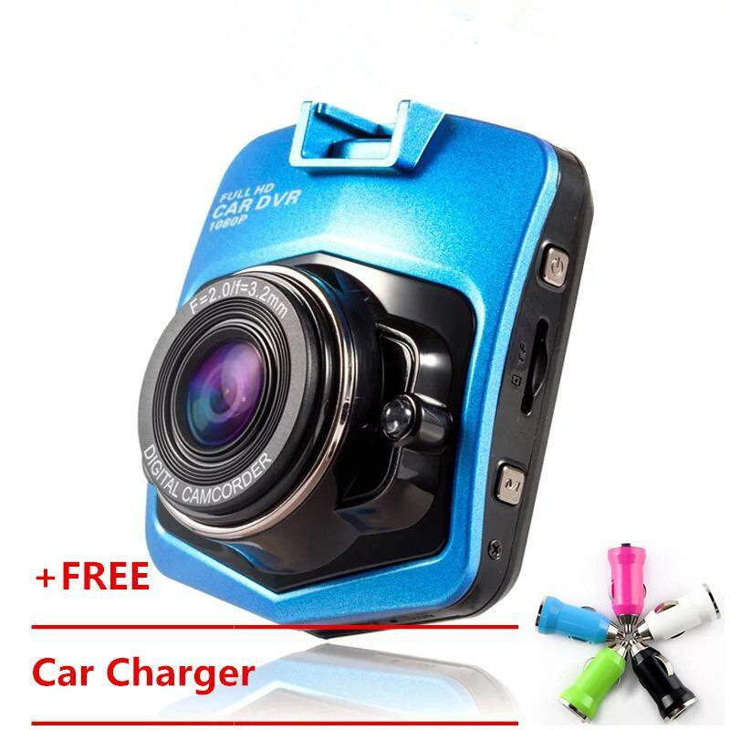 Hot Sell New Mini-drive Full HD 1080P Car DVR Car Camera Drive Video Recorder Night Vision Wide-angle Driving Recorder One Machine(Black)