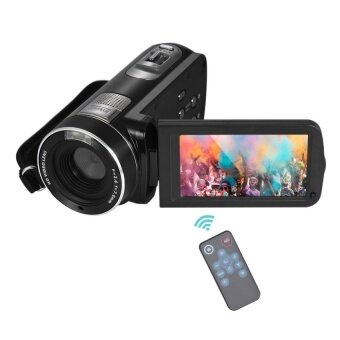 1080P Full HD Digital Video Camera Camcorder 16? Digital ZoomwithDigital Rotation LCD Touch Screen Max. 24 Mega Pixels SupportFaceDetection