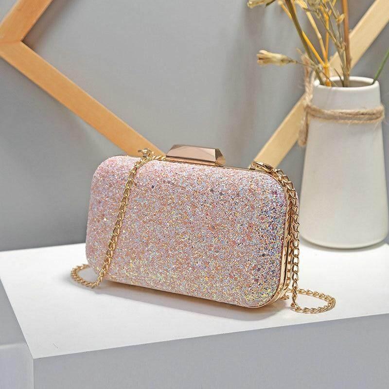 Women Evening Bag Luxury Wedding Party Bag Diamond Rhinestone Clutches Crystal Bling Gold Clutch Bag Purses