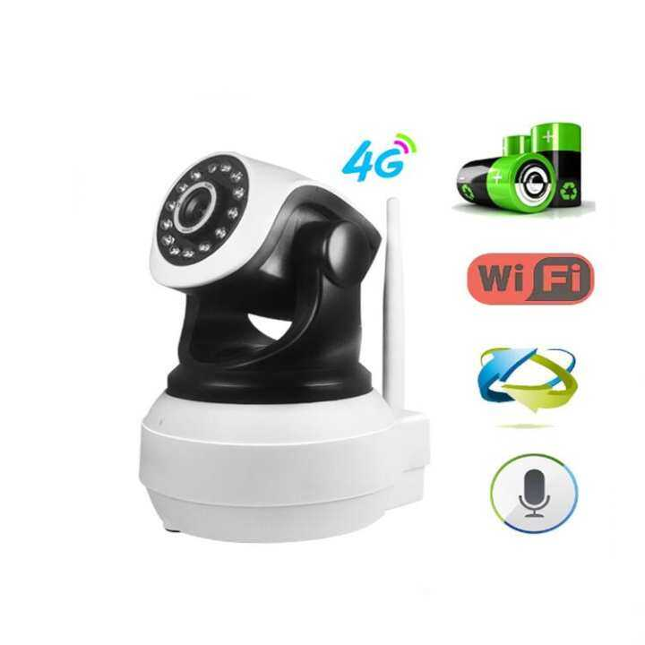 3G 4G SIM Card Camera Wifi intdoor PTZ HD Dome 720P 1280*720P  Camera Wireless IP Security Camera IR Card CCTV System Vidoe Recorder Remote Control Surveillance Camera