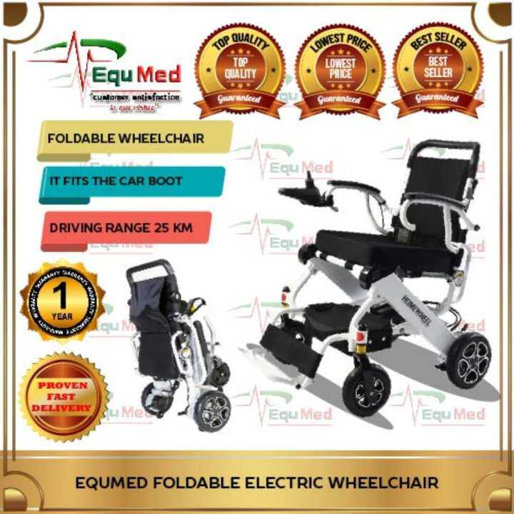 Equmed Foldable Electric Wheelchair Lazada