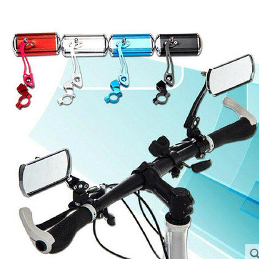 Makeacall Bicycle Handlebar Rear View Mirror Bike Aluminum Alloy Rearview Mirror