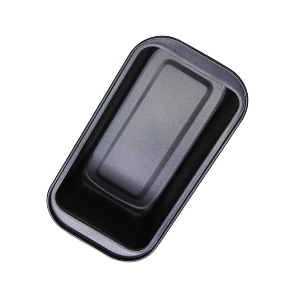 BolehDeals 1pc Rectangle Nonstick Loaf Tin Pastry Bread Cake Baking Pan Bakeware Black