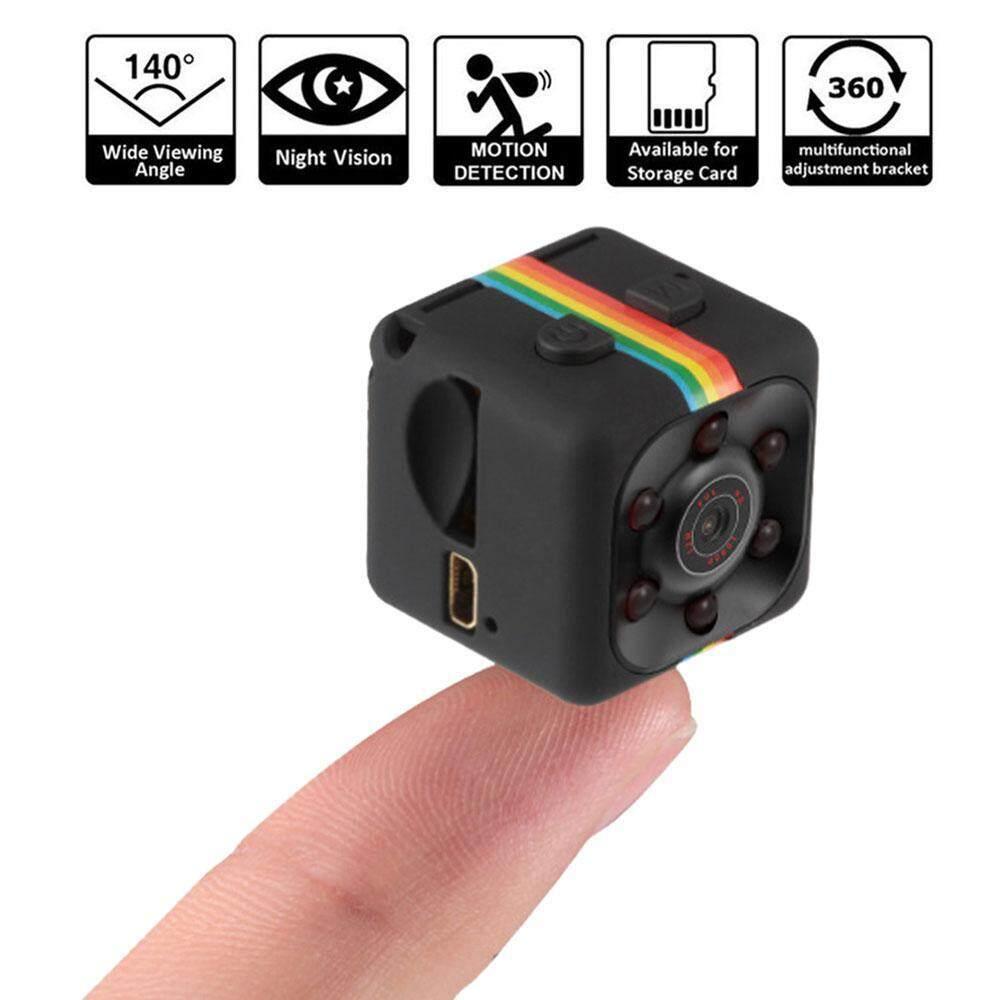 isoopmn Mini Camera SQ11 HD Camcorder 3.6mm Night Vision FOV140 1080P Sports Mini DV Video Recorder