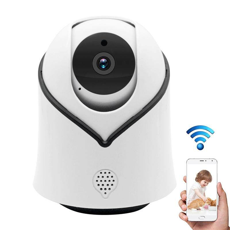 Y10C Smart 1080P 2.0MP Security WiFi Video Camera, Support Monitor Detection & IR Night Vision & TF Card(White)