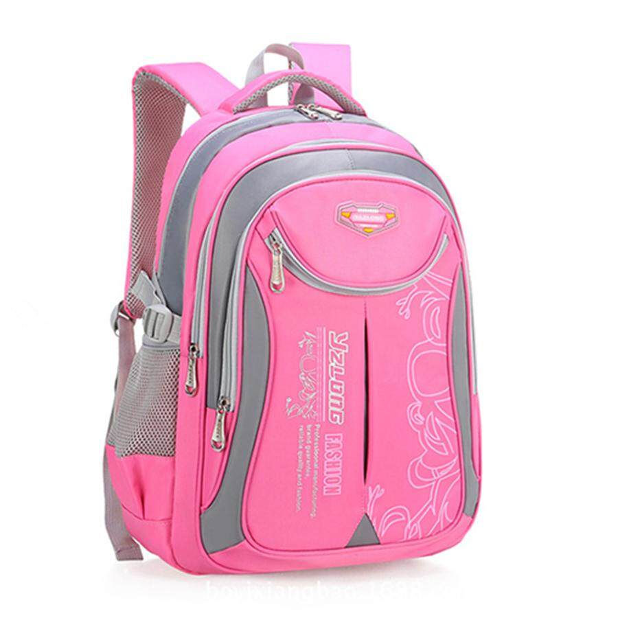 Children Waterproof Orthopedic Backpack for Primary School Boys Girls School Bag