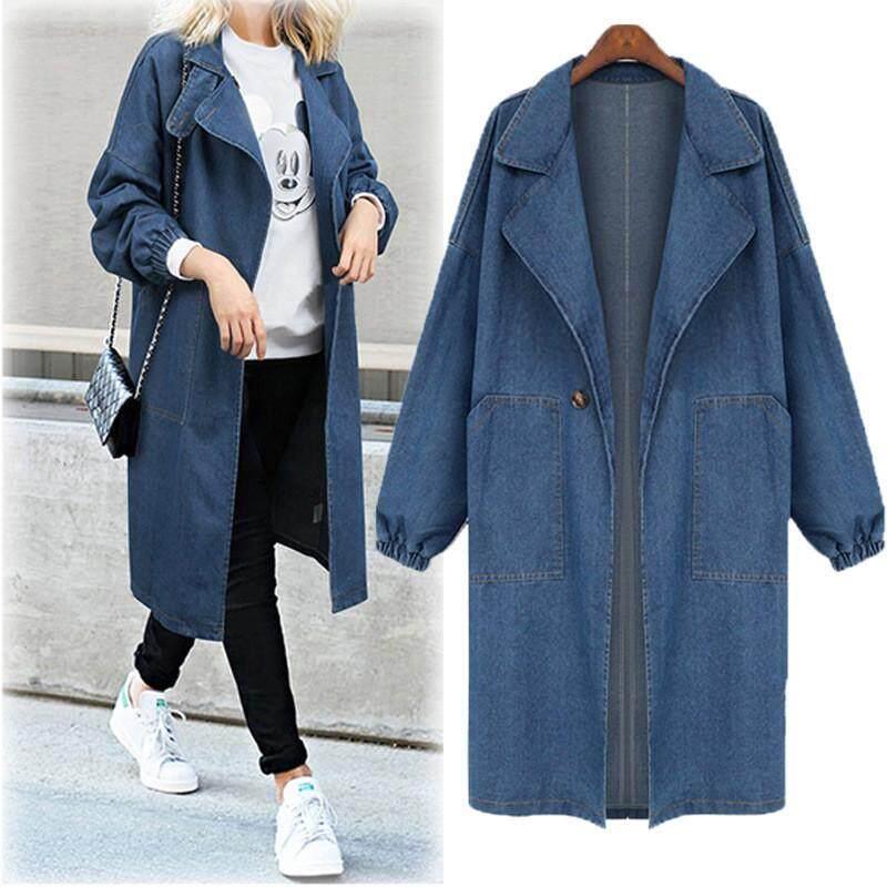 Chic Women Long Sleeves Long Jacket Coat Outwear Plus Size Fur Collar Winter