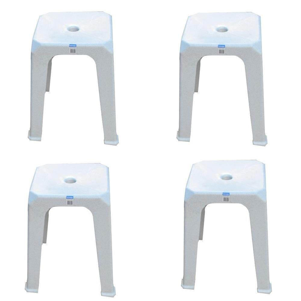 (OW) Toyogo Square Stool set of 4