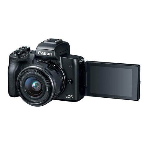 Canon EOS M50 + EF-M 15-45mm f3.5-6.3 IS STM (Black)