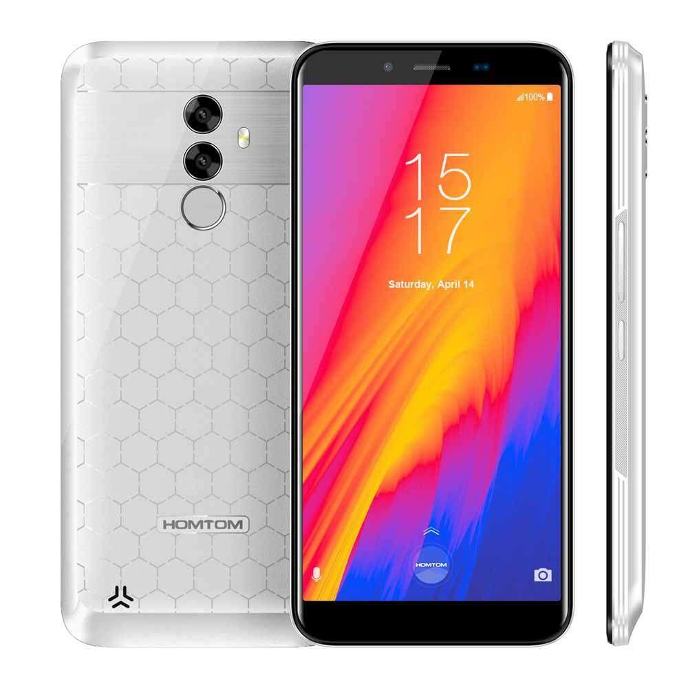 Flash DealHOMTOM S99 Face ID 4GB 64GB Smartphone 5.5-Inch Bezel-less 18:9 Octacore 21MP Dual Rear Cameras Android 8.0 Fingerprint OTG OTA Smart Mobile Phone