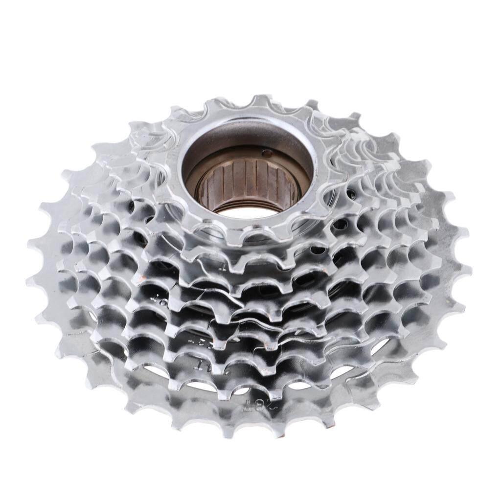 Cycling Freewheel 8 Speed 12-32T Road Bike Bicycle Cassette Sprocke Silver