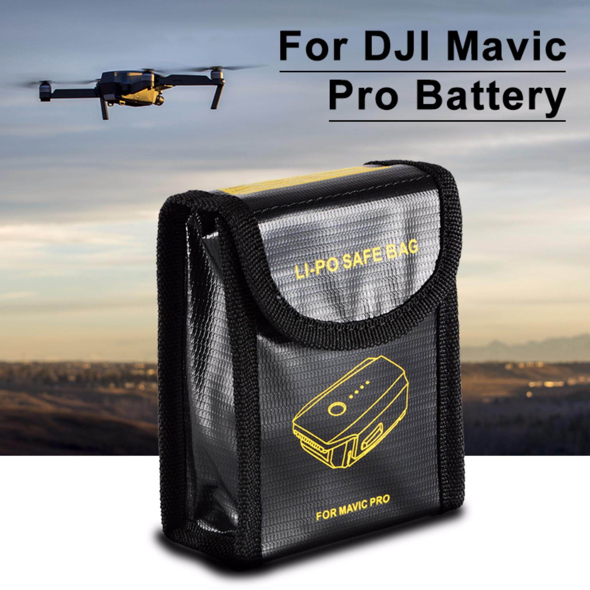 XCSOURCE LiPo Battery Fireproof Pouch Flame Retardant Bag Safety for DJI Mavic Pro RC502