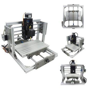 3 Axis DIY Mini CNC Milling Machine Engraving Router Kit + 2500mw Laser Engraver