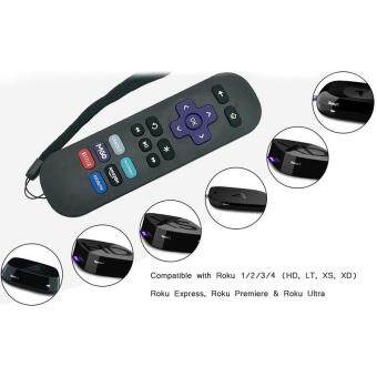 W-Toy Replacement Lost Remote Control Compatible with Roku 1, Roku 2, Roku  3, Roku 4, (HD, LT, XS, XD), Roku Express, Roku Premiere, Roku Ultra Do NOT
