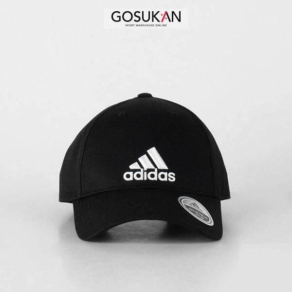 Fashion Adida_OSFM Six-Panel Cotton 3-Stripes Training Cap (S98151)