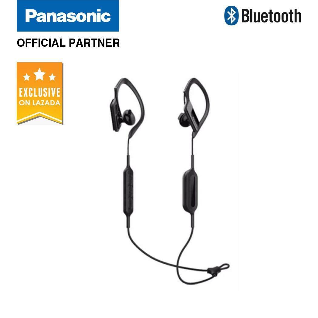 547482ac9c8 Panasonic RP-BTS10 Wings Wireless Bluetooth Sport Headphones (Black)    Lazada