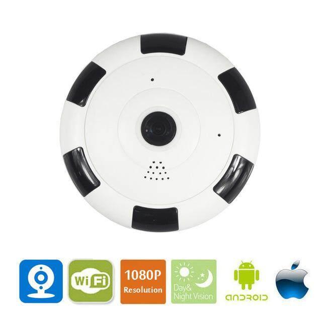 EVKVO 1080P HD V380 APP 360 Degree Panoramic Wide Angle MINI Cctv Wireless Smart IP Camera Fisheye Home Security Wifi