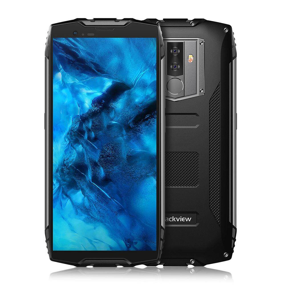 (With NFC Face ID Waterproof Shockproof) BLACKVIEW BV6800 Pro 4G Smartphone MT6750T Octa Core 4GB + 64GB 6580mAh Fingerprint Unlock Mobile Phone