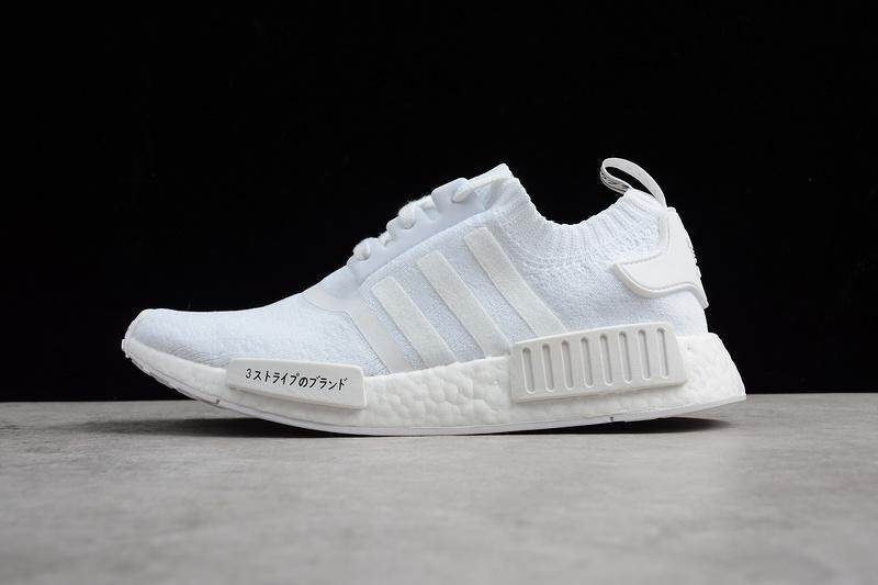 Adidas NMD R1 Boost Men s Fashion Casual Sneakers Lightweight Sports  Running Shoe (White) 15bdc871f2