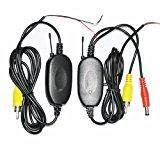 12V 2.4GHz Wireless Transmitter Receiver Module for Car Reverse Camera rear view
