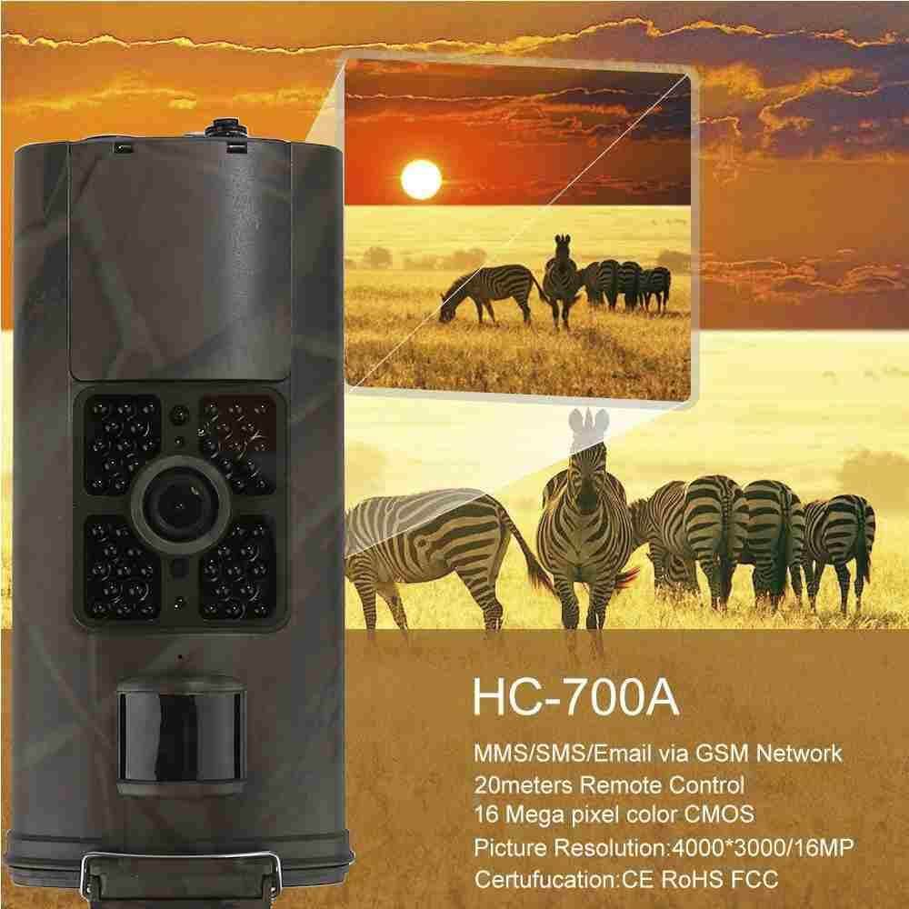 HC-700A 1080P Full HD 16MP 940NM Scouting Infrared Trail Hunting Camera - intl
