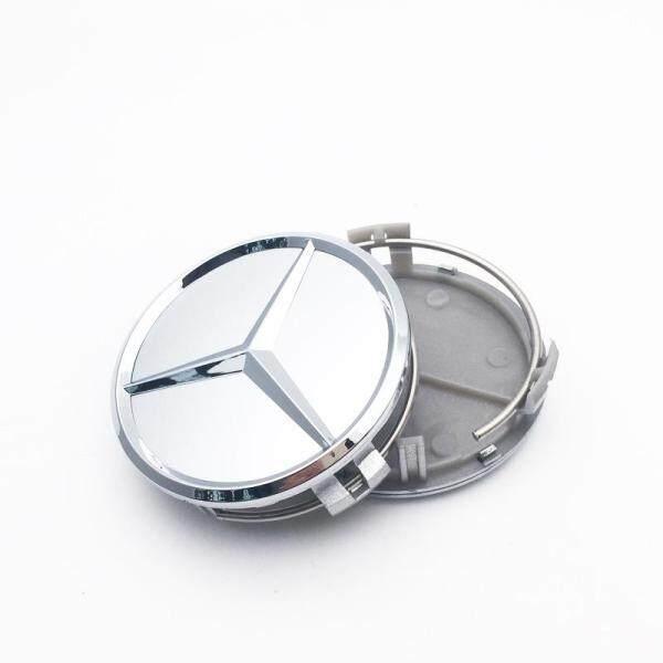 4 Cái Logo Xe Hơi 75Mm Phụ Kiện Tạo Kiểu Cho Xe Hơi Miếng Dán Huy Hiệu Biểu Tượng Nắp Trục Bánh Xe Tấm Che Trung Tâm, Cho Mercedes Benz W211 W203 W204 W124 W201 W202 Clk Cla C260