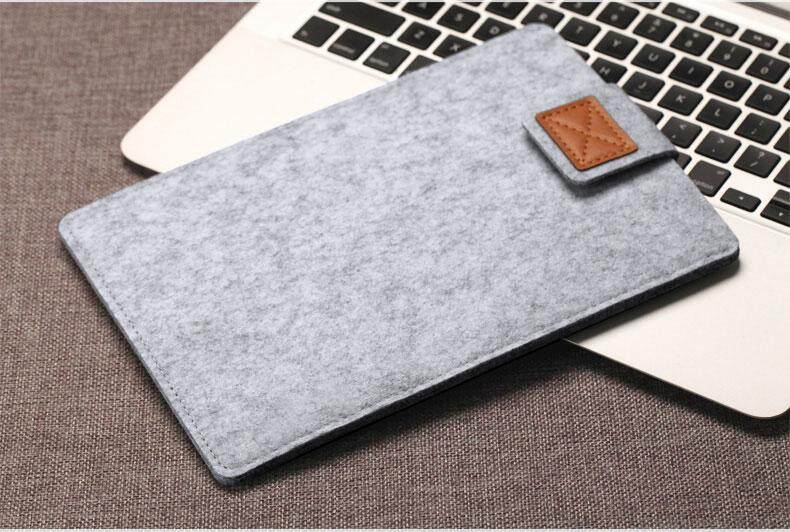7.9 9.7 Inch Universal Wool Felt Tablets Sleeve Bag Case For Ipad 1 2 3 4 Mini Air 2 For Samsung Mipad Cover Case Pocket Pouch Tablets & E-books Case Computer & Office