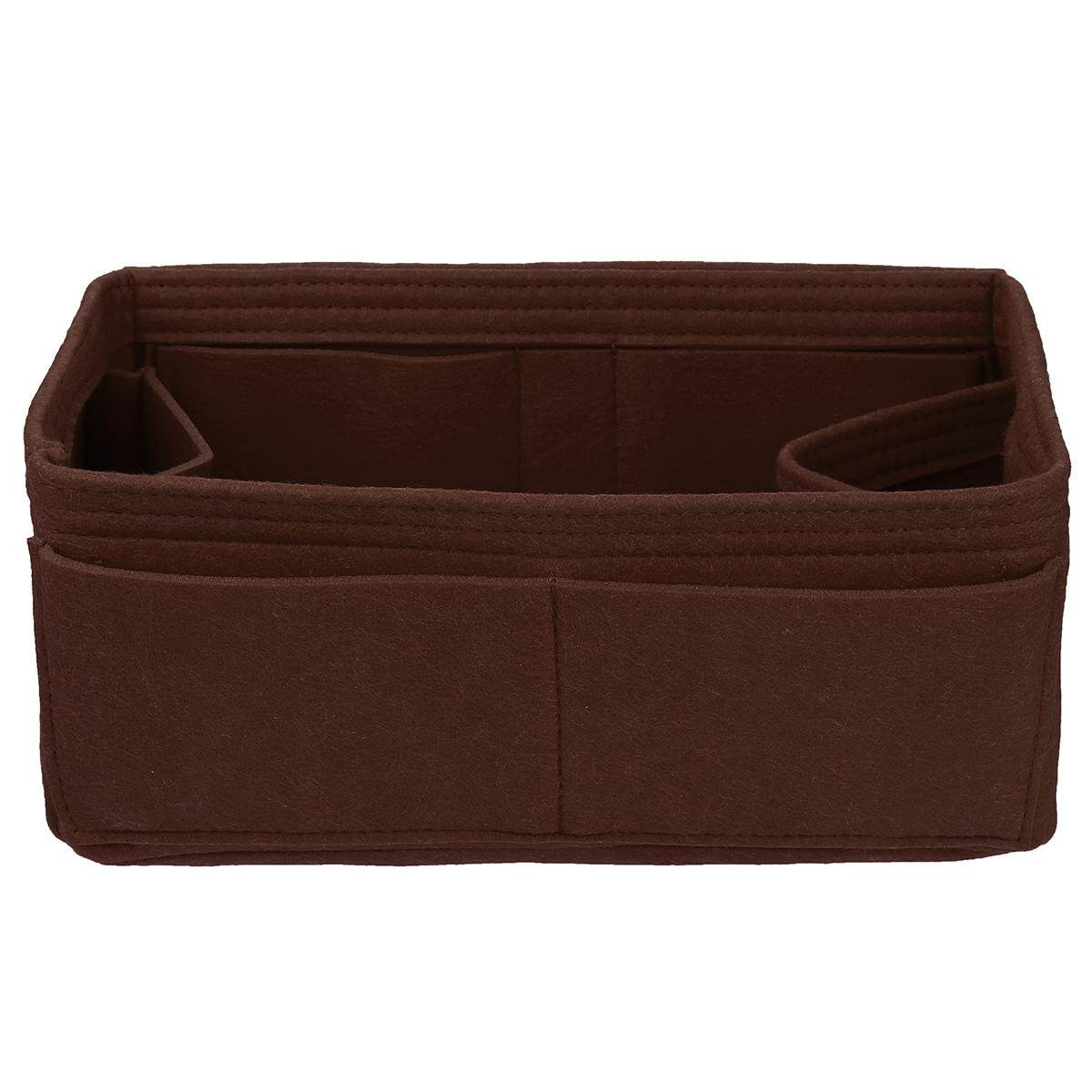 Felt Purse Handbag Organizer Insert - Multi pocket Storage Tote Shaper Liner Bag [33*16*16cm]