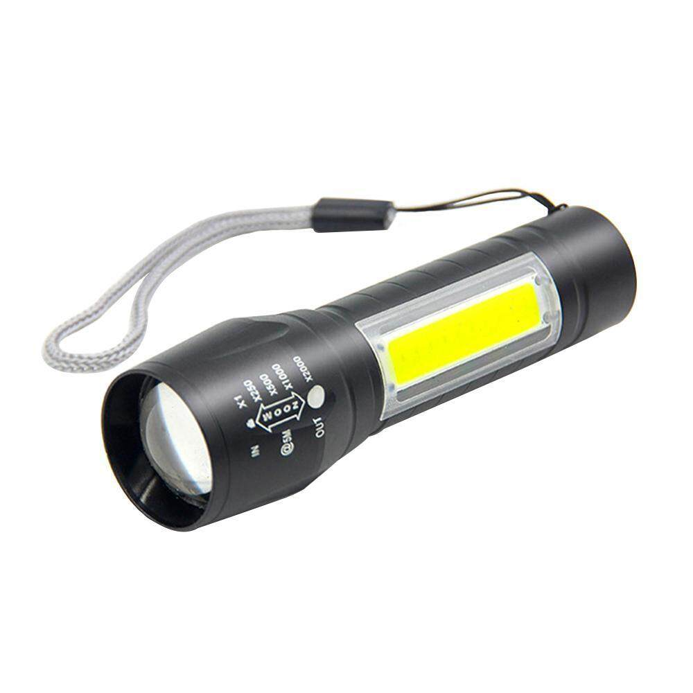 LED USB Portable Pocket Lamp Flashlight Rechargeable Light Mini Torch