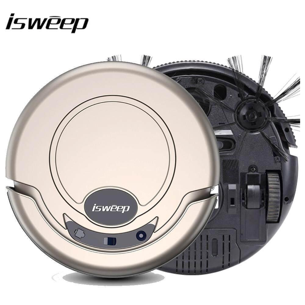 Isweep หุ่นยนต์ดูดฝุ่นทำความสะอาดสำหรับ Home 1000 PA แห้งและเปียก Mopping เครื่องกวาดอัจฉริยะ S320 - INTL