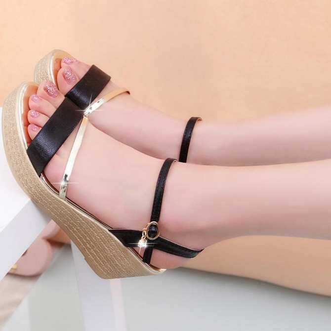 452edffa14726c Wedges Platform Women Sandals Fashion Quality Comfortable Bohemian Women  Sandals For Lady Shoes high heel Gold