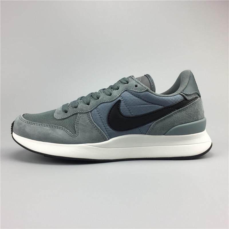 Nike1 Internationalist LT17 Men's Running Shoe Fashion Casual  Sneakers (Black/Grey)