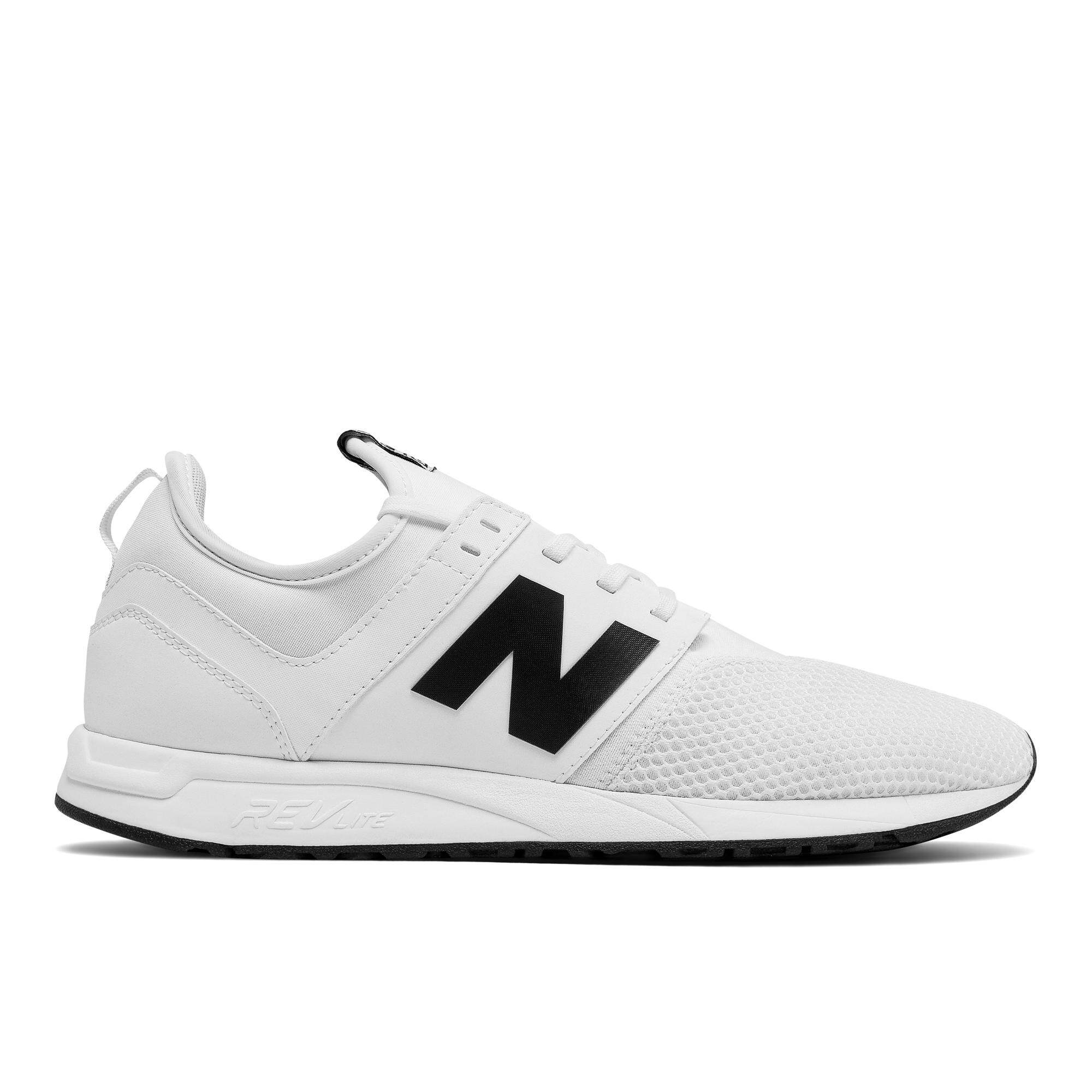 6d30bd00cedb7 Product details of New Balance Men's Lifestyle Shoes - 247 Classic (White/ Black)