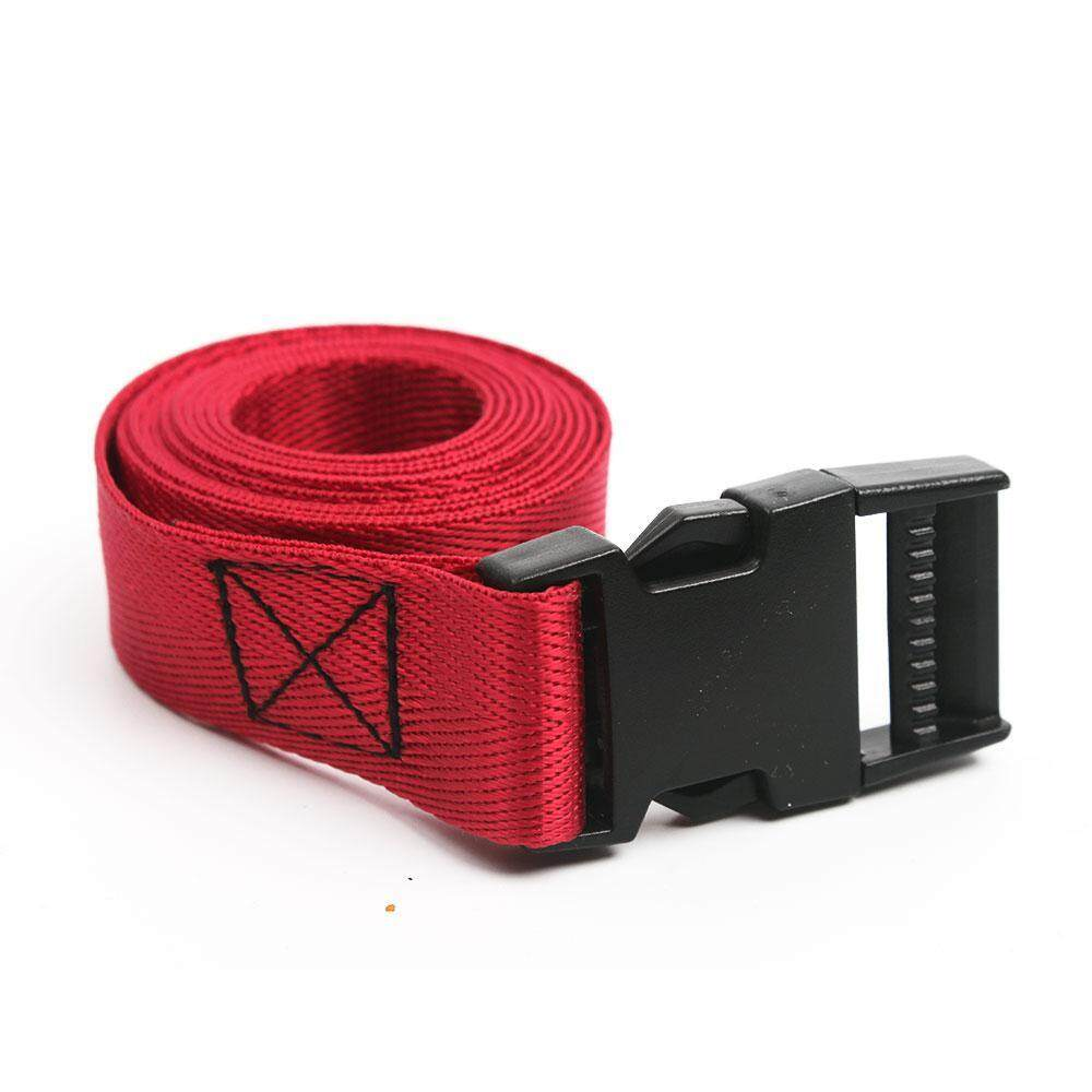 Kobwa Adjustable Suitcase Luggage Straps Travel Buckle Baggage Tie Down Belt Lock Outdoor Waist Belt,1M/1.5M image on snachetto.com