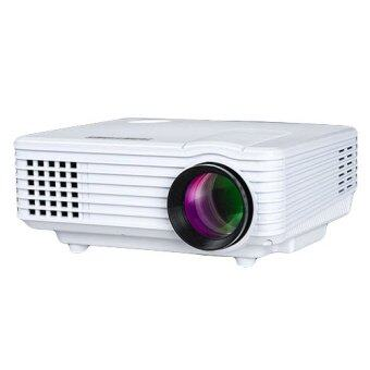 NNC TMT-K909 Mini Home Theater 3D HD Projector (White)