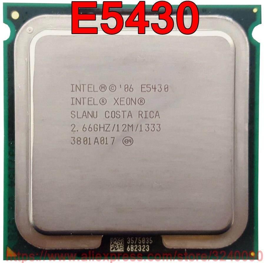 Original Original Intel CPU Xeon E5430 Processor 2 66GHz 12M Core Quad speedy out Used Version 771 133Hz ship 80W