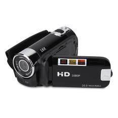 Justgogo Kỹ Thuật Số DV Máy Quay Video Full HD 270 ° Quay 1080 p 16X Cao Cấp Máy Quay Phim Kỹ Thuật Số Video Camera (MỸ Đen)