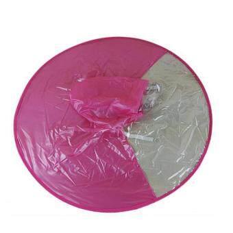 Raincoat rain artifact children 's creative rain hat UFO Umbrella no handle rain hat poncho fishing raincoats