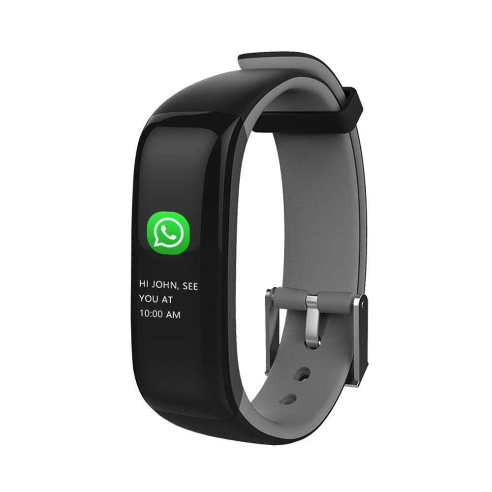 niceEshop Smart Band Watchband Health Fitness Tracker With Heart Rate Monitor And Blood Pressure Sports Smart Wristband Pedometer Smart Bracelet Bluetooth Smart Watch For IOS Android Phone  สายรัดข้อมือเพื่อสุขภาพ อุปกรณ์ไอทีสวมใส่