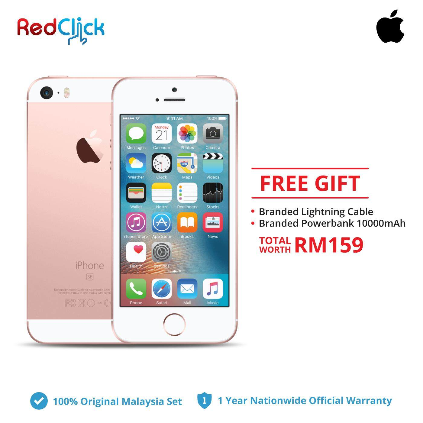 Apple Iphone Se 16gb Rose Gold Price Online In Malaysia March 2019