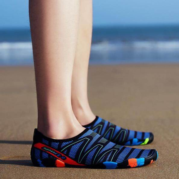 Giày Lội Nước CcharmiX Cho Nữ Giày Nam Đi Biển Ngoài Trời Cho Cặp Đôi, Dép Đi Bơi Giày Đi Dưới Nước Nhanh Khô Khi Lướt Sóng Giày Đi Nước Sọc Tất giá rẻ