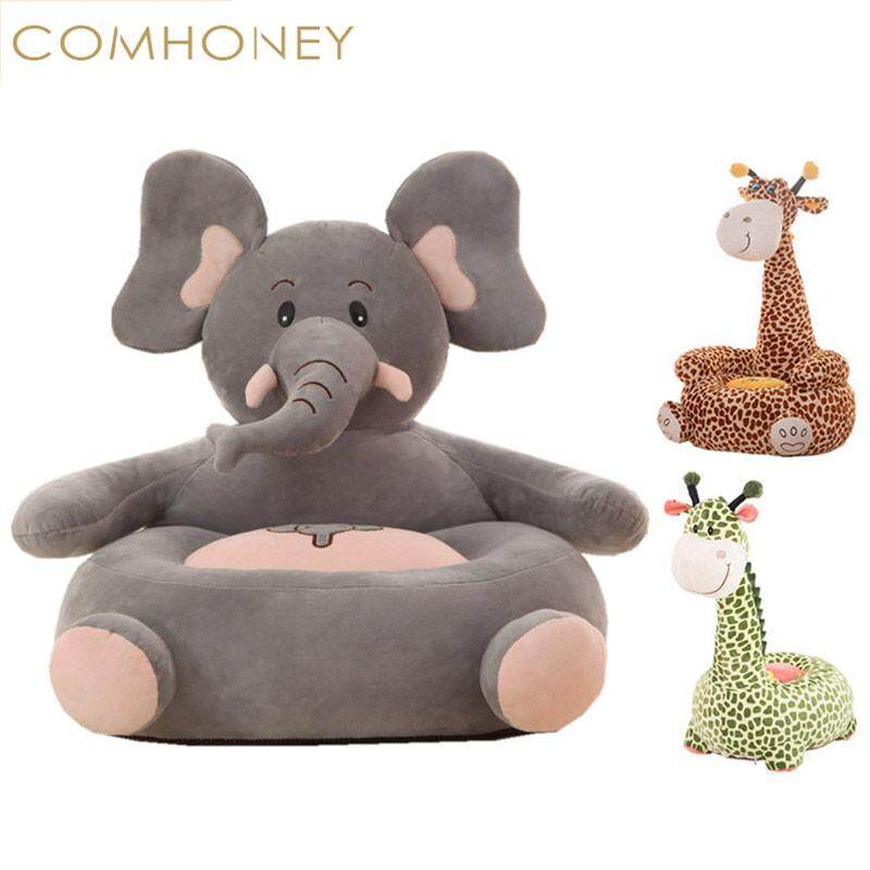 Baby Chair Bean Bag Christmas Elephant Feeding Chair Children Seat Sofa For Kids Sleeping Bed Baby Nest Chair Beanbag Plush Toys