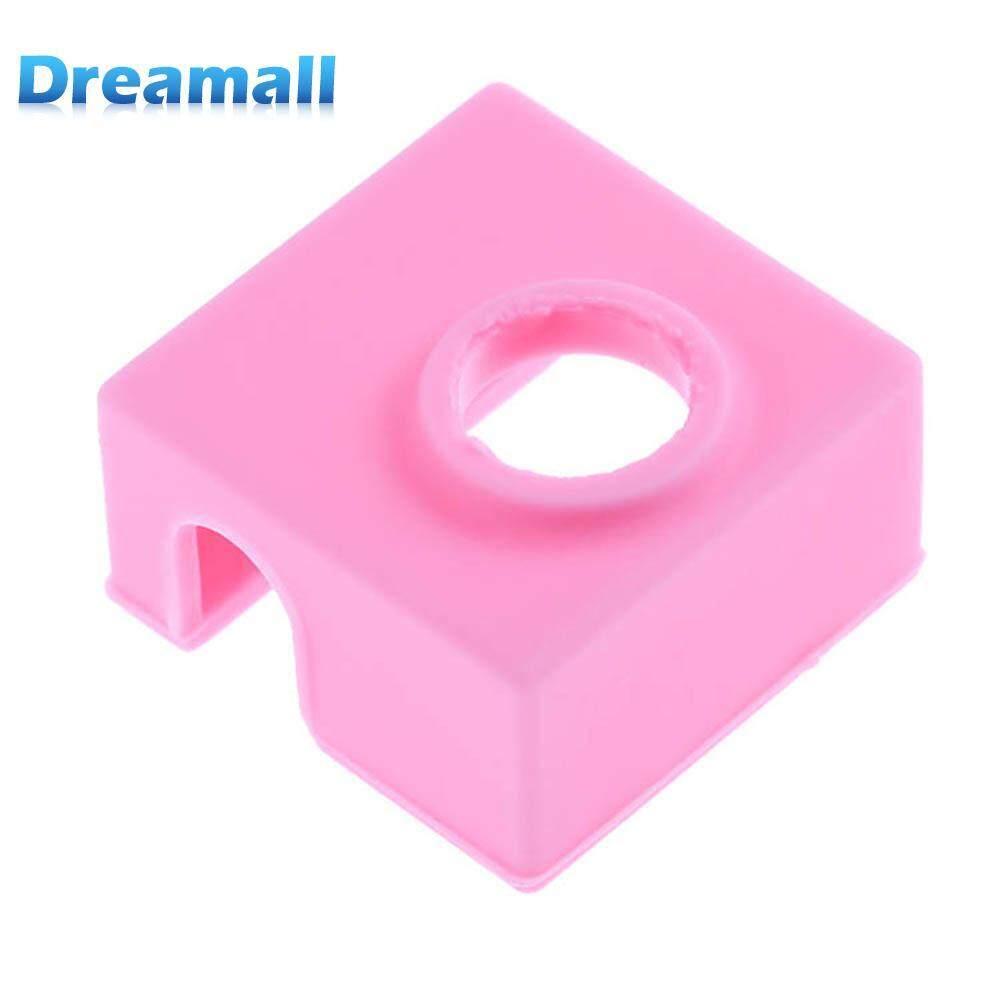 Dreamall Silicone Protective Insulation Socks Cover Case for MK7/MK8/MK9 Heater Aluminum Block - intl
