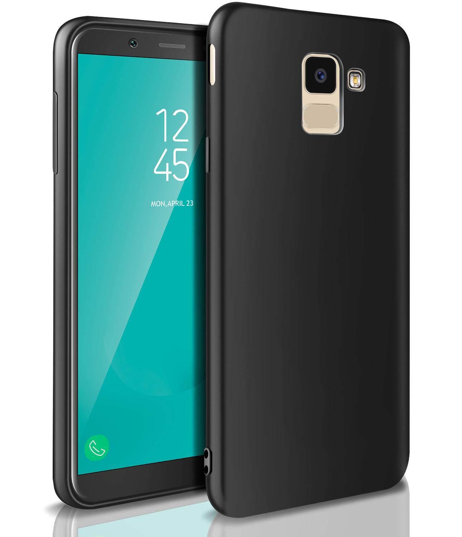 pretty nice a811d bd2d5 Rymall For Samsung Galaxy J6 2018 Casing Soft TPU Silicone Flexible Gel  Slim Shockproof Waterproof Case Bumper Back Skin Cover for Samsung Galaxy  J6 ...