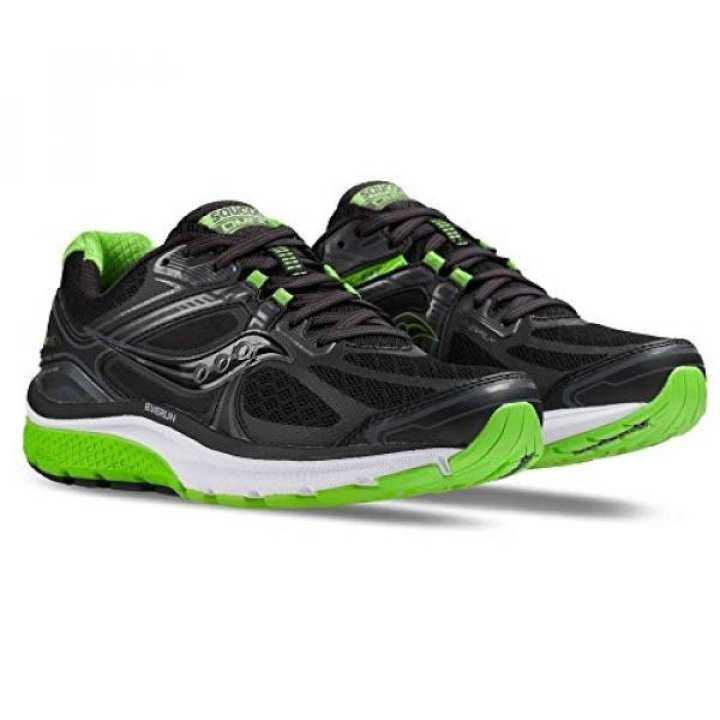 Saucony S20315-5 Mens Omni US 15 Running Shoes, Black/Slime Green, 8 M US Omni 860a57