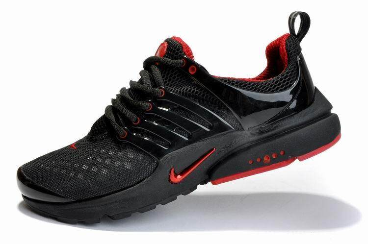 Nike Men s Air Presto Breathable Running Shoes Fashion Casual Sneakers ( Black Red)SGD88.00 d514ecc641